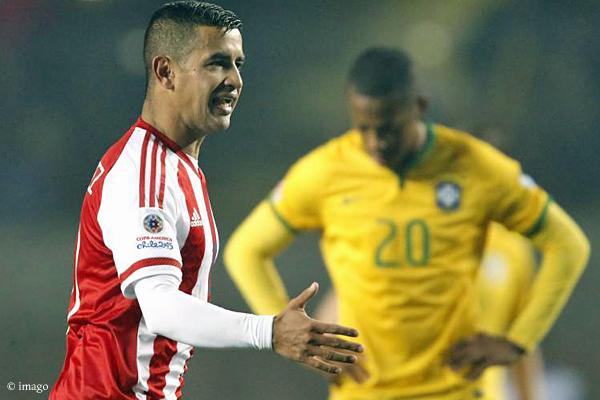 Paraguays Viertelfinal-Held: Derlis González.