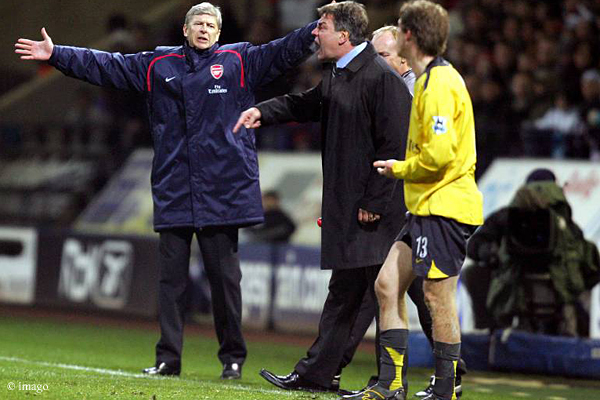 Freunde werden sie wohl keine mehr: Arsène Wenger (links) und Sam Allardyce.