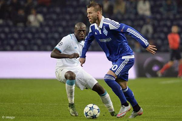 Andriy Yarmolenko führte Dynamo Kiew zum überraschenden Sieg im Estádio do Dragão.
