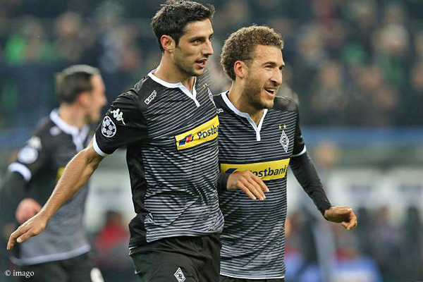 Geniales Duo: Lars Stindl (links) und Fabian Johnson.